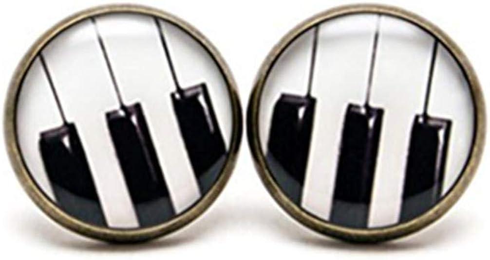boucle d'oreille piano