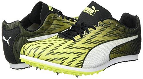Puma Evospeed Star 5 Heren Sprintschuhe Track Spikes 189546 03 Safety Yellow-puma Zwart-puma Wit 03