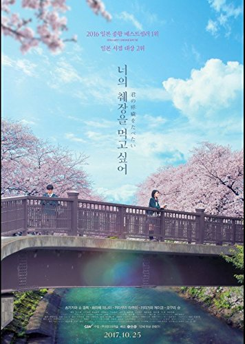 Let me eat your pancreas 2017 Korean Mini Movie Posters Movie Flyers (A4 Size) ()