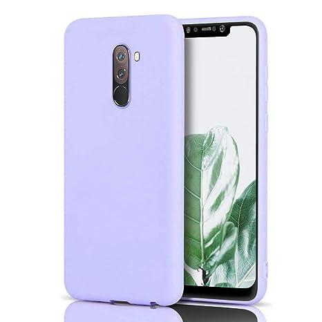 Anfire-ES Funda Xiaomi Pocophone F1, Carcasa Suave Silicona ...