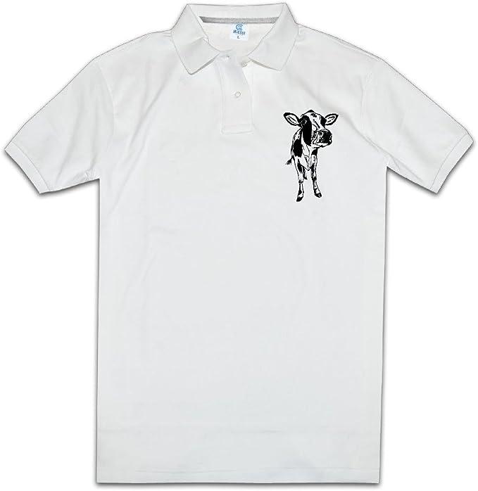 Único Color Rosa Vaca Hombre Golf Polo Camisas: Amazon.es: Ropa y ...