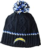 NFL Girls 716 Cable Knit Rib Cuffless Hat