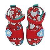 CHOOZE Happy Fashion Sandal (Toddler/Little Kid), Bloom, 8 M US Toddler