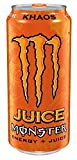 Monster Energy Juice, Khaos, 16 Ounce (Pack of 24)