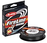 Berkley Fireline Fused Original Superline 300 Yd spool(8/3-Pound,Smoke)