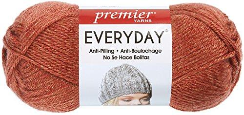 Premier Yarns 110-14 Everyday Soft Worsted Heather Yarn-Terracotta