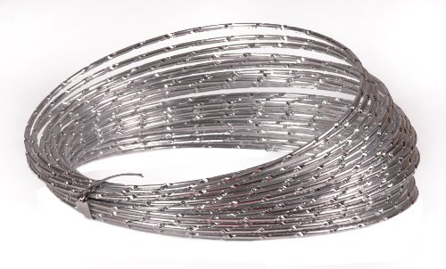 Diamond Wire Silver 32 Ft Long - Decorative Wire - Floral Supplies