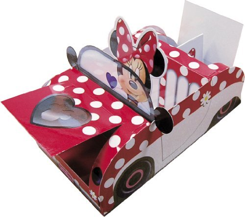 Minnie Mouse Red Polka Dot Party Food Tray -
