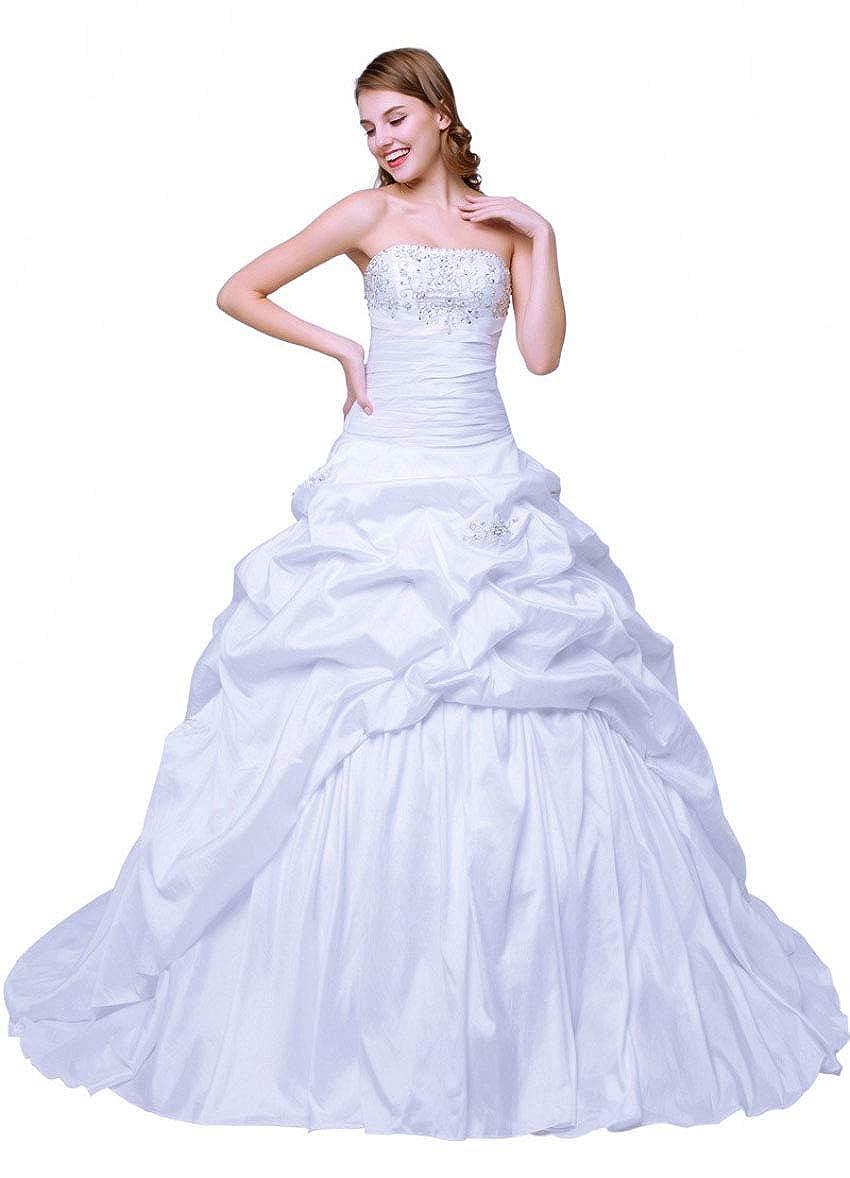 Zorayi Women's Embroidery Taffeta Ball Gown Wedding Dresses At Amazon Clothing Store: Taffeta Ball Gown Wedding Dresses At Websimilar.org