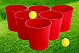 Win SPORTS Bucket Pong Game,Giant Yard Pong-Beer