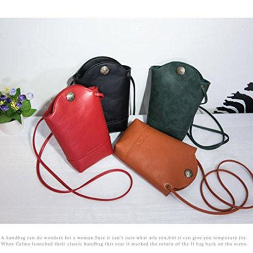 Green Bags Shoulder Messenger Green Handbag Small Crossbody Women YJYdada Bags Slim Bags Body CxwX7nq
