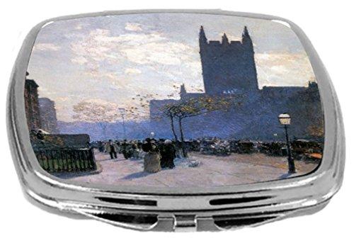 - Rikki Knight Childe Hassam Art Design Compact Mirror, Lower Fifth Avenue New York, 3 Ounce