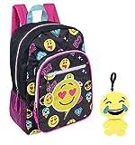 Emoji Backpack & Plush Keychain Bag Charm Review