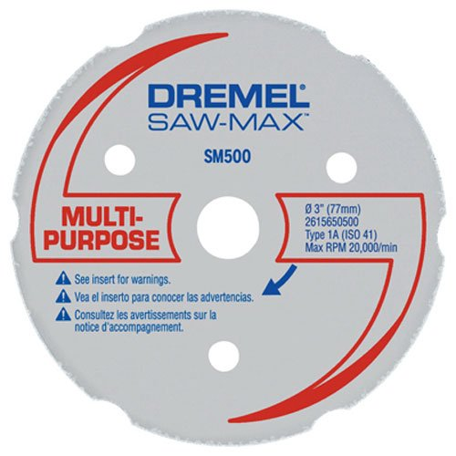 Dremel Cutting Plastic (Dremel SM500 3-Inch Wood & Plastic Carbide Wheel)