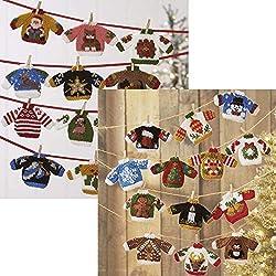 Herrschners® Ugly Sweater Knit Ornaments I & II