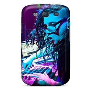 High Quality Cell-phone Hard Covers For Samsung Galaxy S3 (LaZ4402YTRP) Provide Private Custom Fashion Skrillex Djing Series