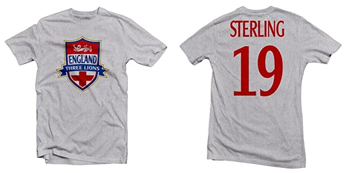 reputable site 4a398 5fb5c England Three Lions Hero Tee: Raheem Sterling Printed Tee