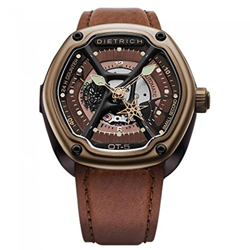 Dietrich OT-5 Organic Time 5 Bronze Watch