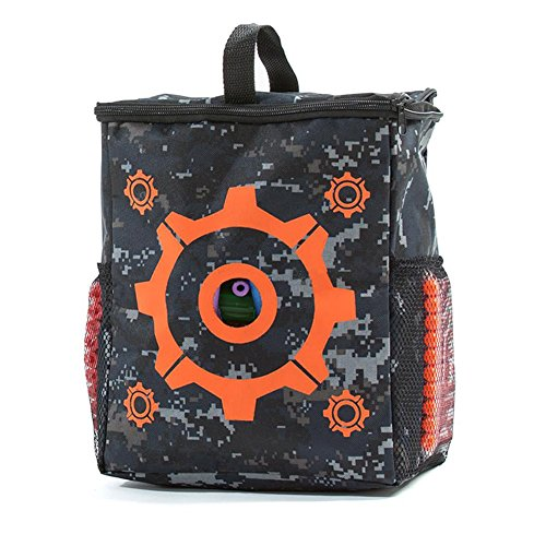 Price comparison product image SODIAL Kids Target Bag Children Target Pouch Storage Carry Equipment Bag for Nerf N-strike Elite Series
