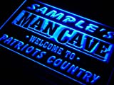 qf-tm Name Personalized Custom Man Cave Patriots Country Pub Bar Beer Neon Sign