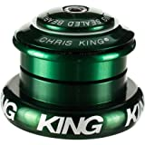 Image of Chris King Inset 7 Headset Green, Tapered Inset