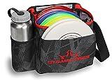 Dynamic Discs Cadet Disc Golf Bag (Fracture Red)