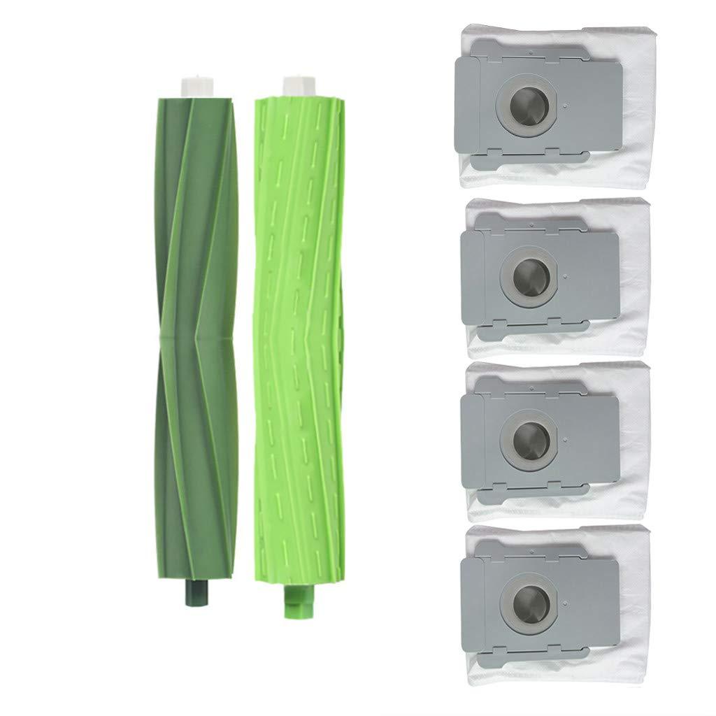 Alecony - 1 cepillo principal + 4 bolsas de filtro compatibles con ...