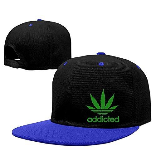 ce1e9c365e8 Amazon.com  Addicted Cannabis Weed Leaf Caps Man Hip Hop Vintage Snapbacks  Graphic-Print Cool Snapback Hat (6311010027777)  Books