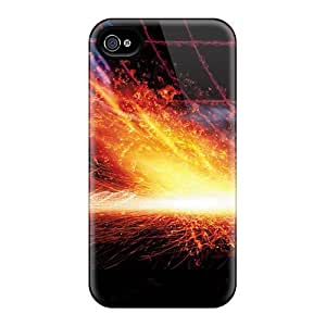 For Iphone 4/4s Fashion Design Burning Match Case-OGqtLTg2166TcqiT by lolosakes