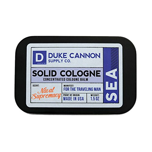 Duke Cannon Men's Solid Cologne, 1.5oz.