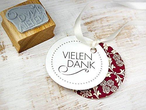 Stempel VIELEN DANK f/ür Danksagung Geschenke Gastgeschenk