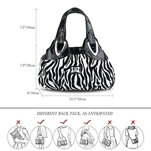 di di di Modo Borse polso Modello stampa Delle Di Panzexin Sacchetto Donna Donne Zebra nqHzxwB0aZ