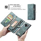 Galaxy Note 9 Wallet Case,AKHVRS Handmade Premium