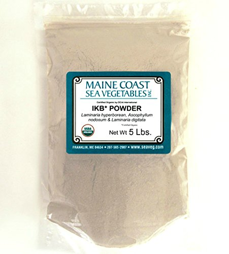 Organic Raw Icelandic Kelp Powder - 5 Lb by Maine Coast Sea Vegetables