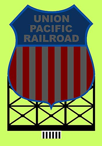 88-1801 Lg Union Pacific animated neon billboard by Miller Signs