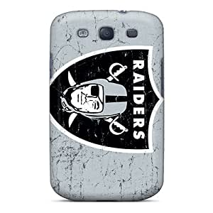 Ideal PRcases Case Cover For Galaxy S3(oakland Raiders), Protective Stylish Case
