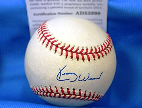 Signed Kerry Wood Baseball - CERT National League ONL Authentic - PSA/DNA Certified - Autographed Baseballs
