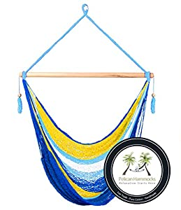 coastal hammock chair   100  hand woven   perfect for one child teen or adult  amazon     coastal hammock chair   100  hand woven   perfect for      rh   amazon