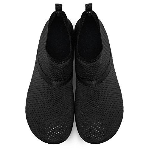 Barefoot JOINFREE Dry Beach Water Womens for Yoga Quick Socks Swim Sports Shoes Men's Surf Aqua Black Mid Pool 7qrw07