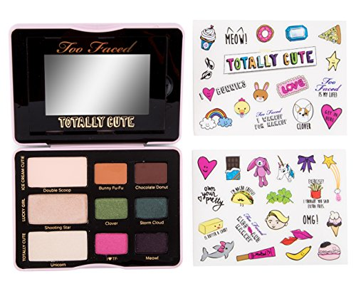 NIB TOO FACED Totally Cute Sticker Eye Shadow Collection Pal
