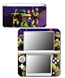 Teenage Mutant Ninja Turtles TMNT Leonardo Raph April Splinter Leo Cartoon Movie Video Game Vinyl Decal Skin Sticker Cover for Original Nintendo 3DS XL System