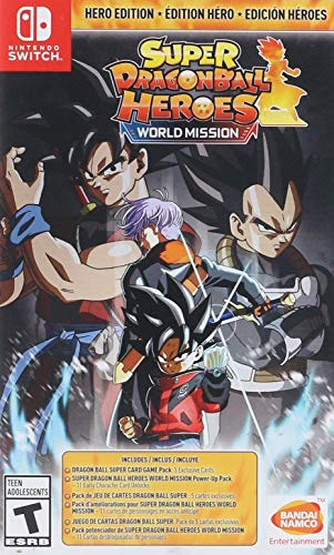 Super DRAGON BALL Heroes: World Mission Hero Edition - Nintendo Switch ()