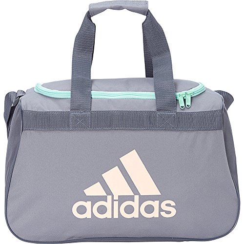 adidas Diablo Small Duffel Limited Edition Colors- Exclusive (Grey/Onix/Glow