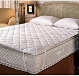 Rajasthan Crafts Microfiber Waterproof and Dustproof Mattress Protector(White, 2x78-inch)