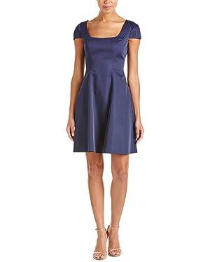 Belle By Badgley Mischka A-Line Dress