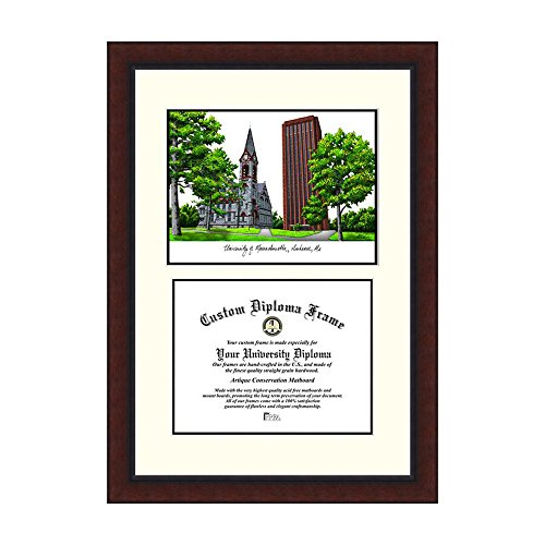Campus Images NCAA University of Massachusetts Legacy Scholar Frame by Campus Images