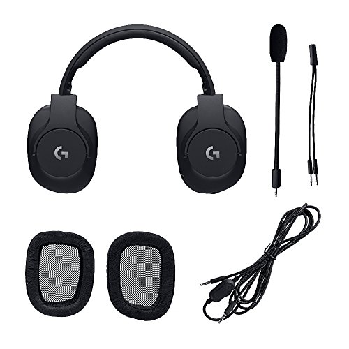 Logitech G Pro Gaming Headset with Pro Grade Mic For Pc, PC VR, Mac, Xbox  One, Playstation 4, Nintendo Switch (981-000719)