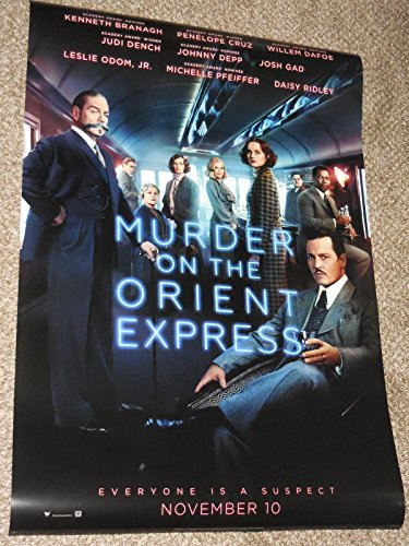 Murder on the Orient Express B 2017 Poster Minor Imperfections Original D/S Movie vg