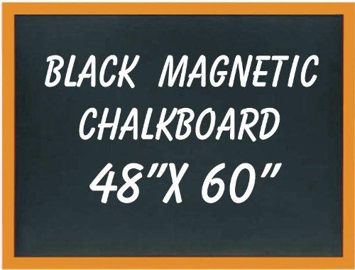 NEOPlex 48'' x 60'' Wood Framed Black MAGNETIC Chalkboard by NEOPlex