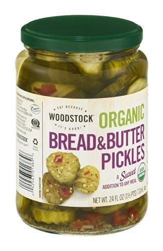 Woodstock Pickles Swt Brd & Btr Org by Woodstock Farms